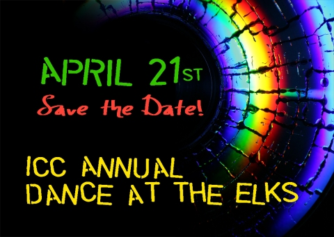 Save the Date! April 21st, 2012 for the annual ICC dance at the Elks Club.